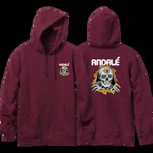 Andale - Brigade Hd/swt M-burgundy - Skateboard Sweatshirt