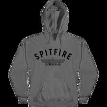 Spitfire - Burn Division Hd/swt Xl-charcoal/black - Skateboard Sweatshirt