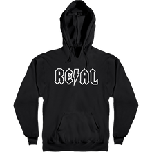 Real - Deeds Outline Hd/swt S-black/wht - Skateboard Sweatshirt