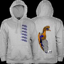 Bones Wheels - Lockwood Dragon Hd/swt L-carbon Grey - Skateboard Sweatshirt