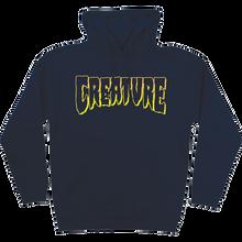 CREATURE - Logo Outline Hd/swt L-navy - Skateboard Sweatshirt