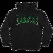 CREATURE - Logo Outline Hd/swt M-black - Skateboard Sweatshirt