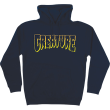 CREATURE - Logo Outline Hd/swt M-navy - Skateboard Sweatshirt