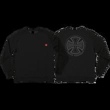 Independent - Sub Crew/swt S-black - Skateboard Sweatshirt
