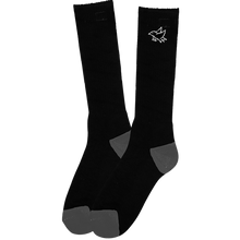 Foundation - Bird Tall Socks Black 1pr - Skateboard Socks
