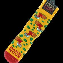 Freaker - Dank Nugs Crew Socks Org/red 1pr - Skateboard Socks