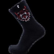Psockadelic - Future 3 Crew Socks Black 1pr - Skateboard Socks