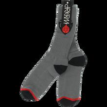 Darkroom - Sentry Crew Socks Charcoal 1pr - Skateboard Socks