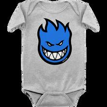Spitfire - Baby Big Bighead Fill Romper 12m-hthr.grey/blu