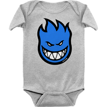 Spitfire - Baby Big Bighead Fill Romper 24m-hthr.grey/blu
