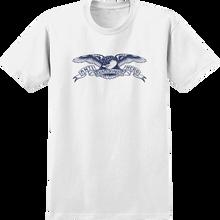 Anti Hero - Basic Eagle Yth Ss M-wht/navy
