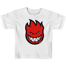 Spitfire - Bighead Fill Toddler Ss 2t-wht/red