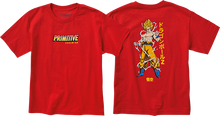 Primitive - Dbz Super Saiyan Goku Yth Ss M-red