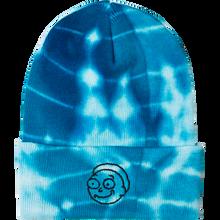 Primitive - R&m Morty Washed Beanie Aqua Tie Dye
