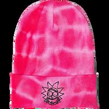 Primitive - R&m Rick Washed Beanie Pink Tie Dye