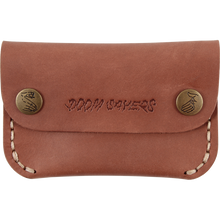 Doom Sayers - Sayers Corp Guy Slim Leather Wallet Brown