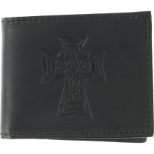 Dogtown - Leather Billfold Wallet Black