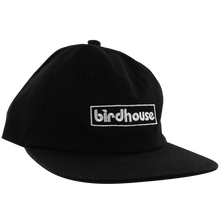 Birdhouse - Bar Logo Hat Adj-blk/wht