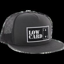 LOWCARD - Classic Canvas Mesh Hat Adj-charcoal