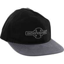 Independent - O.g.b.c. Embroidery Hat Adj-blk/grey