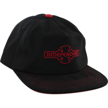 Independent - O.g.b.c. Embroidery Hat Adj-blk/red