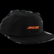 Santa Cruz - Strip Hat Adj-black/red