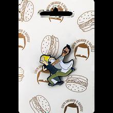 Habitat - Bob's Burgers Marius Enamel Pin