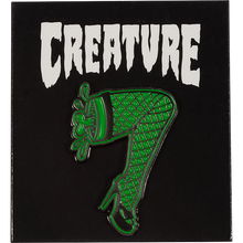 CREATURE - Burlesque Push Back Pin Grn/blk