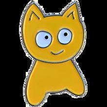 Meow - Cat Lapel Pin