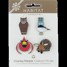 Habitat - Harper 4/pack Set Enamel Pins