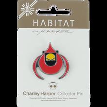 Habitat - Harper Cardinal Enamel Pin