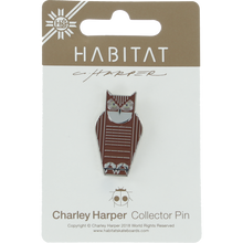 Habitat - Harper Great Horned Owl Enamel Pin