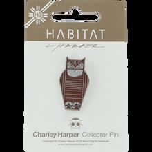 Habitat - Harper Great Horned Owl Enamel Pin