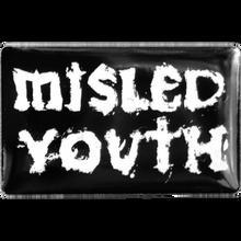 Zero - Misled Youth Enamel Pin Blk/wht