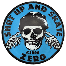 Zero - Shut Up And Skate Enamel Pin Blue/blk