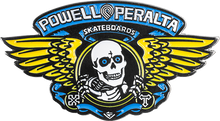 Powell Peralta - Winged Ripper Lapel Pin Blue/gold