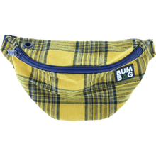 Bumbag - Basic Flanders Yel/blu Plaid - Backpack