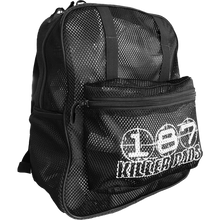 187 - Mesh Backpack Black - Backpack