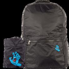 Santa Cruz - Screaming Hand Packable Backpack Black - Backpack