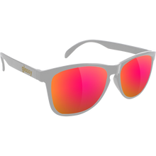 Glassy Sunhaters - Deric Dark Grey/purple Mirror Sunglasses