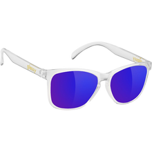Glassy Sunhaters - Deric Clear/blu Mirror Sunglasses