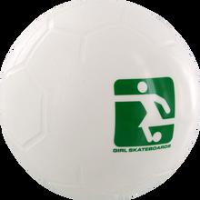 Girl - Mini Futbol Blow Up Toy White