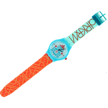 Darkroom - Triclops Wrist Watch Teal/org/wht