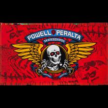 Powell Peralta - Winged Ripper Beach Towel 36x68 Red/gold/blu