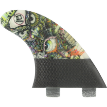 3D Fins - Darkside Carbon Twin-tab 5.0 Wise Owl - Surfboard Fins