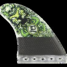 3D Fins - Darkside Carbon Full-base 6.0 Lion Head - Surfboard Fins