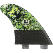 3D Fins - Darkside Carbon Twin-tab 6.0 Lion Head - Surfboard Fins