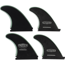 PROTECK - Perform Ffs Quad 4.5+4.25 Black - Surfboard Fins