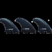 3d Fins - Freedom Med 3df2 Base Blue/grey - Surfboard Fins