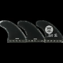 3d Fins - Matt Hoy Xlrg Thruster Futures Base Blk - Surfboard Fins